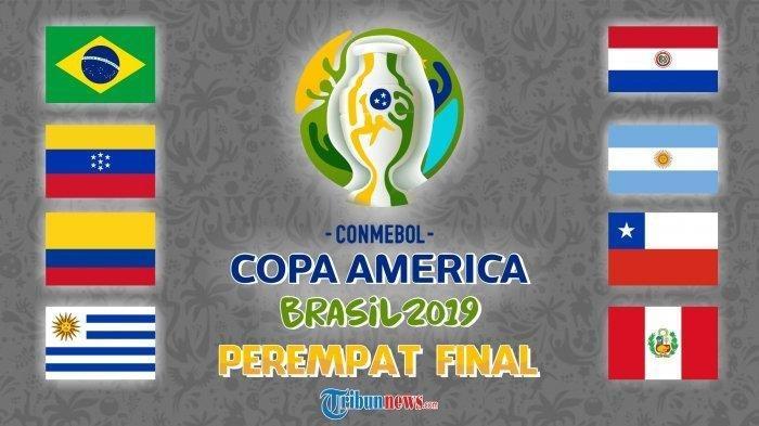 Chili Vs Kolombia di Copa America 2019 Pagi Ini Pukul 06.00, Tonton Live Skor Hasilnya di HP