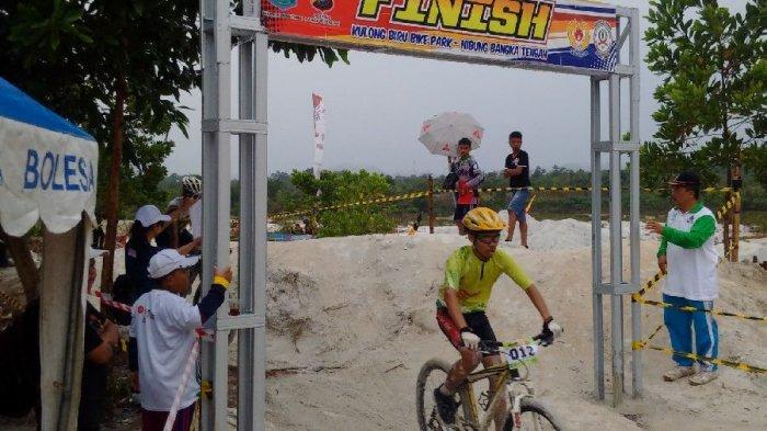 Ratusan Peserta Ikuti Kejuaraan Mountain Bike Cross Country (MTB XC) di Kolong Biru