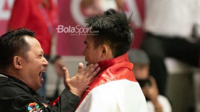 Pesilat Komang Harik Adi Putra Persembahkan Medali Emas Ke-5 Untuk Indonesia