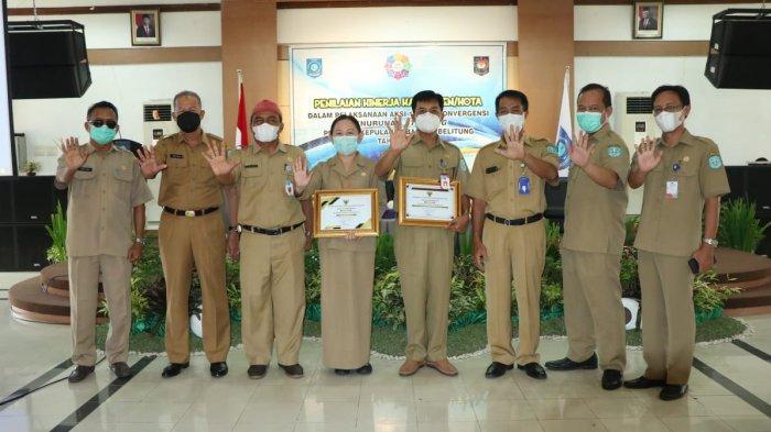 KABUPATEN Bangka berhasil mengelola penurunan stunting dengan sangat baik dan bahkan terbaik di Indonesia.