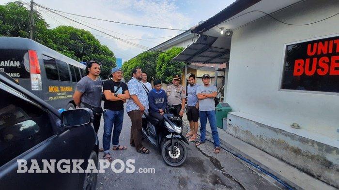 Oknum PNS Pemprov Bangka Belitung Nekat Mencuri Motor di Parkiran Kantor Leasing Terungkap Alasannya