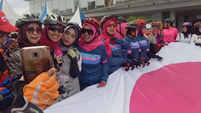 Launching BBC Bangka Belitung, Pelopor Komunitas Bersepeda Khusus Goweser Wanita