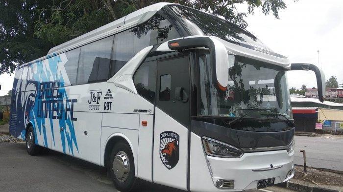 Tiga Bulan Menganggur, Begini Nasib Bus Official Babel United FC