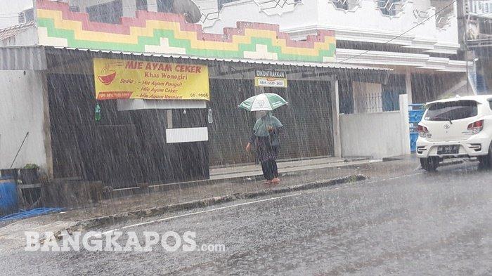 Awas ! Cuaca Ekstrem Mengancam Bangka Belitung, Tiga Hari Hujan Lebat, Angin Kencang dan Petir