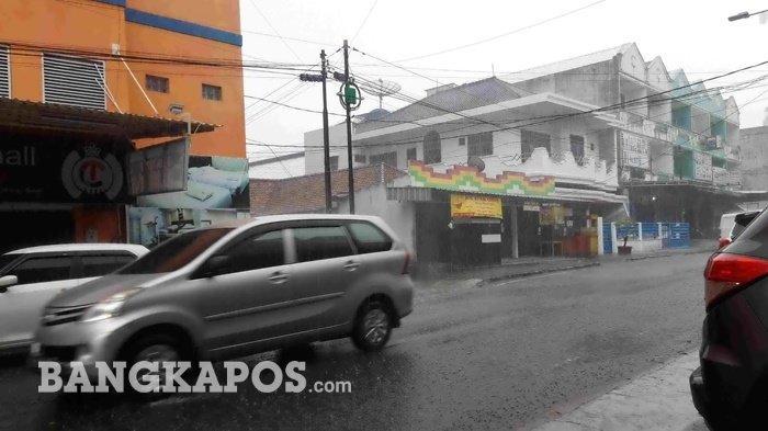 Tiga Hari ke Depan Daerah Ini Berpotensi Hujan Lebat, Simak PrediksiBMKG Pangkalpinang