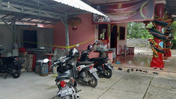 Bujangan Tewas Diduga Gantung Diri di Area Kelenteng Belitung