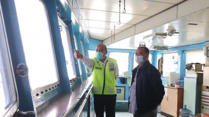 Gubernur Erzaldi Pelajari Penyeberangan Merak-Bakauheni