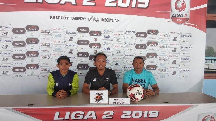 Lawan Persibat Batang, Babel United FC Siap Berikan Kado Manis Kepada Kota Pangkalpinang
