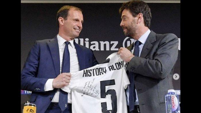 Klub Juventus Dapat Suntikan Dana Segar, Andrea Agnelli Ungkap Sumber Uangnya
