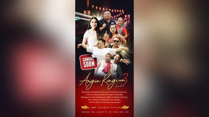 Komunitas Angin Kongian, Segera Rilis Film Series Ketiga, Ada Sandra Dewi dan Aziz Gagap - kongian2.jpg