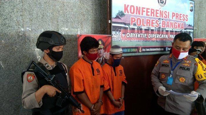 Dua Pencuri Lima Kotak Amal di Masjid dan Rumah Makan Diringkus Tim Polsek Pemali