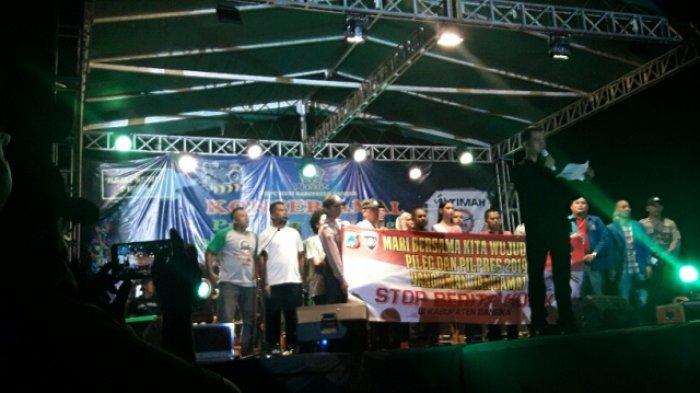 Konser Amal HNSI Himpun Donasi Rp 39,7 Juta Untuk Korban Gempa Palu, Sigi, Donggala dan Lombok