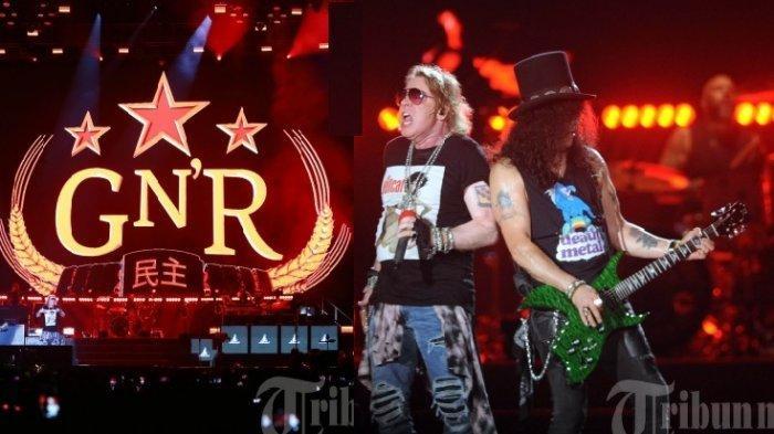 Chord dan Lirik Lagu 'November Rain' Guns N Roses yang Melegenda Main Mudah di Kunci F