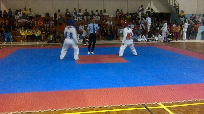 Kontingen Belitung Raih 10 Emas Cabor Taekwondo