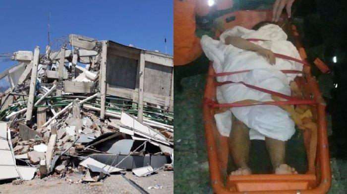 Gempa Palu - Aksi Heroik Tim SAR Selamatkan Fitri Leonica yang Tertimpa Reruntuhan Hotel Roa Roa