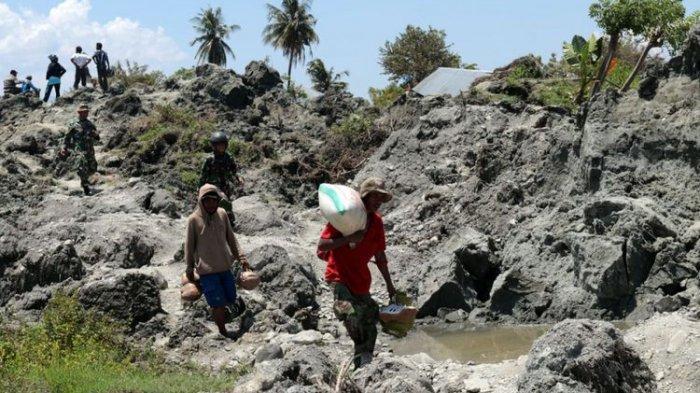 Desi Warga Palu Saksikan Tetangganya Tenggelam Ditelan Lumpur yang Muncul dari Perut Bumi