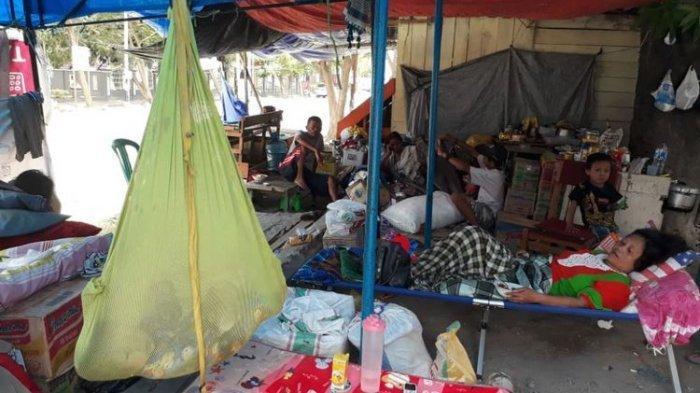 Korban Gempa Palu Berhari-hari Belum Dapat Pasokan Bahan Makanan