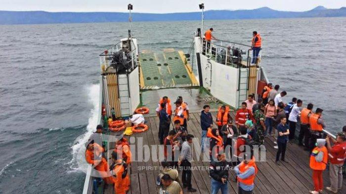 166 Korban Tenggelamnya KM Sinar Bangun di Danau Toba, Banyak Korban Diduga Terjebak Dalam Kapal