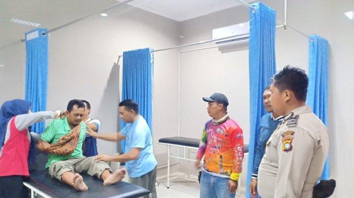 Kericuhan Penertiban Tambang di Belitung, Sopir Satpol PP Belitung Timur Alami Patah Tangan