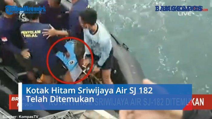 Kotak Hitam Sriwijaya Air SJ 182 Telah Ditemukan (VIDEO)