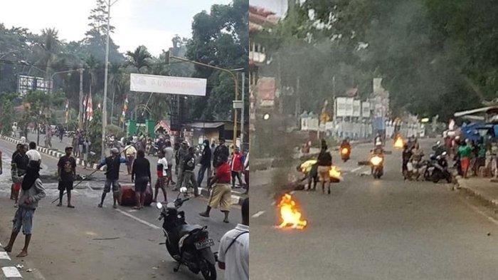 Update Rusuh di Manokwari Papua Barat, Penyebab Rusuh dan Video Aksi Kapolda Minta Warga Tentang