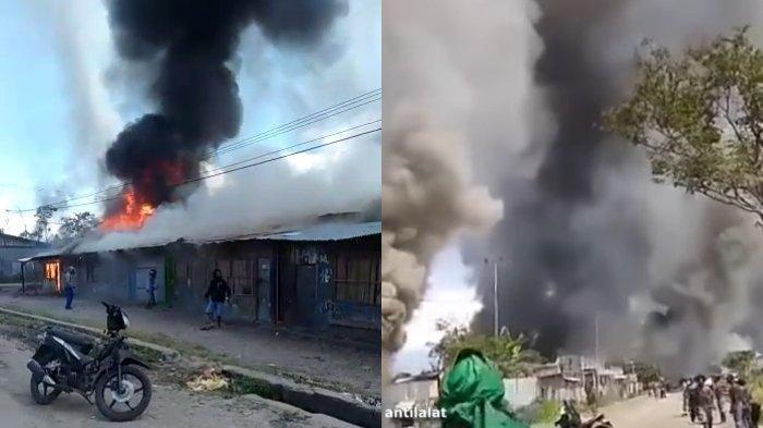Kronologi Kerusuhan di Wamena Tewaskan 16 orang & Ribuan Warga Mengungsi Berawal Kabar Hoaks Ini