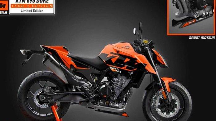 Cuma 100 Unit, KTM Rilis 890 Duke Tech 3 Edition Rp205 Jutaan