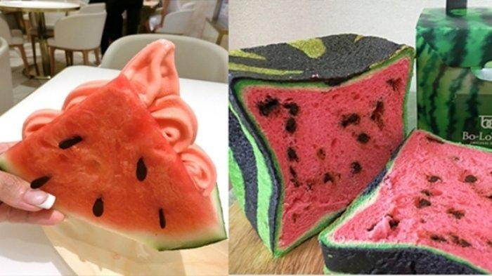 Kuliner Jepang Ini Bikin Ngiler, Ada Roti dan Es Krim Berbentuk Semangka