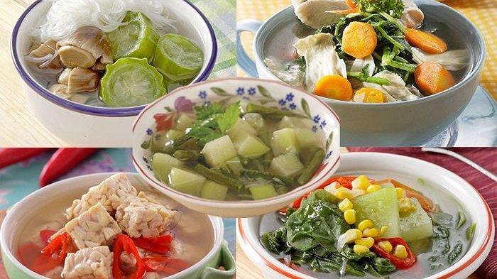 Resep Makanan- 5 Resep Sayur Bening Enak, Menu Bergizi untuk Lawan Segala Virus!