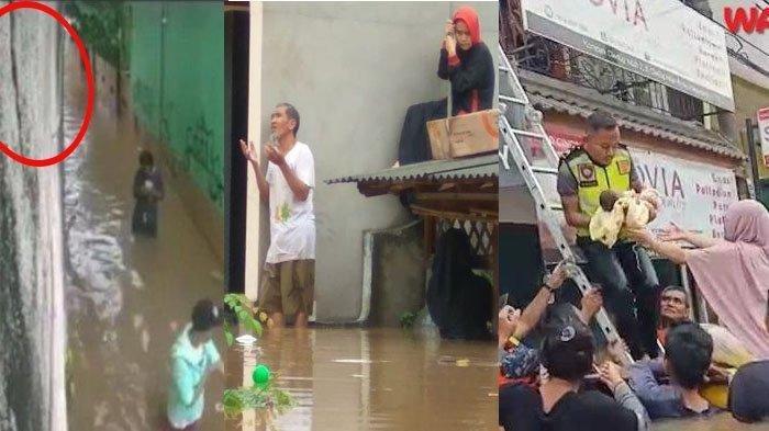 FENOMENA Ikan Muncul Setelah Banjir Melanda Jakarta dan Aliran Sungai Ciujung Lebak Meluap