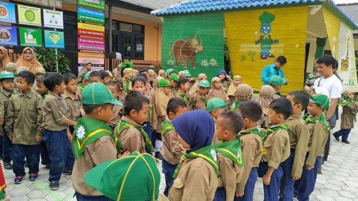 SD Muhammadiyah Toboali Gelar Field Trip ke SD STKIP MBB