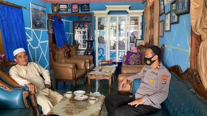 Bahas 3M dan Kamtibmas, Kapolsek Air Gegas Silaturahmi Ke Kediaman Tokoh Agama