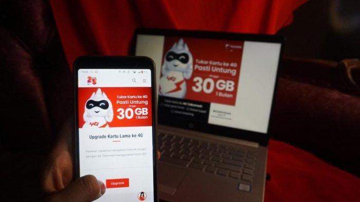 Ganti Kartu Lama ke SIM Card 4G Telkomsel, Bonus Kuota hingga 30 GB