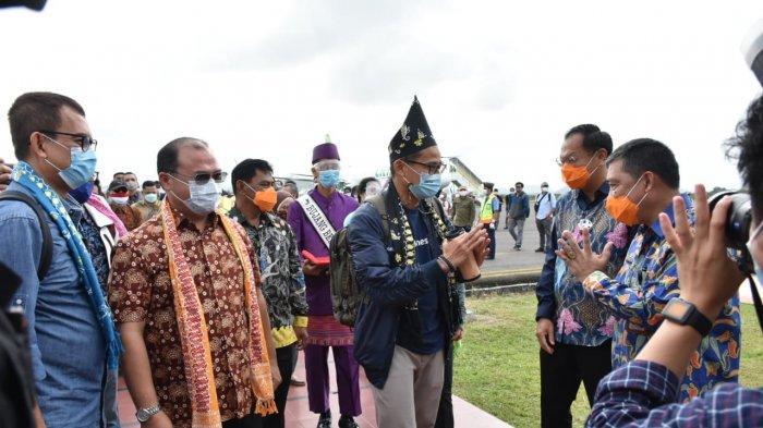Menteri Sandi Uno Kunjungi Pulau Belitung, Ini yang Dilakukannya