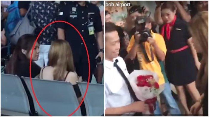 Wanita Ini Ketakutan dan Gemetar Saat Kekasihnya Ditangkap Polisi, Endingnya Sweet Banget!
