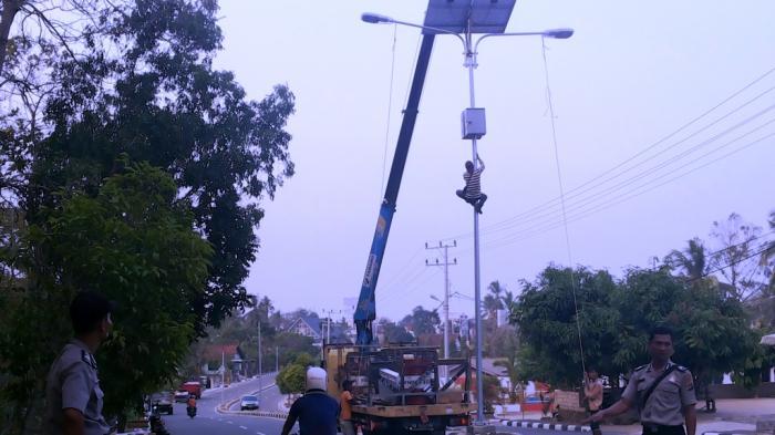 Dari 5.000 Titik, Baru 10 Persen Lampu Penerangan Jalan di Bangka Belitung yang Terpenuhi