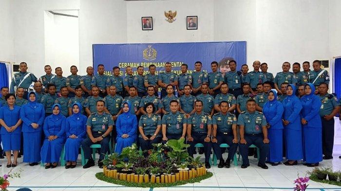 Kadiswatpersal TNI Kunjungi Mako Lanal Babel, Beri Ceramah Tentang Radikalisme