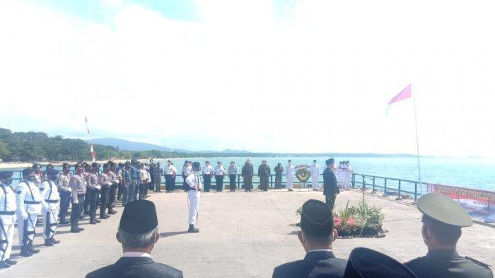 Posal dan Posmat wilayah Kabupaten Bangka Barat Ikuti Peringatan Hari Pahlawan