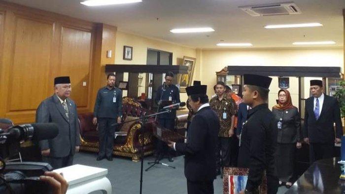 Wagub Lantik Yulizar Selaku Penjabat Sekretaris Daerah Pemerintah Provinsi
