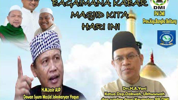 DMI Babel akan Gelar Pelatihan Manajemen Masjid