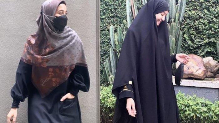 Laudya Cynthia Bella Kini Tampil Beda, Balutan Hijab Makin Syar'i, Ini Alasannya
