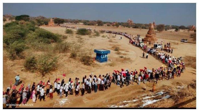 Masyarakat Myanmar Gunakan Ritual Santet & Kutukan Hadapi Kudeta Militer, Ritual di Kuil Abad ke-13