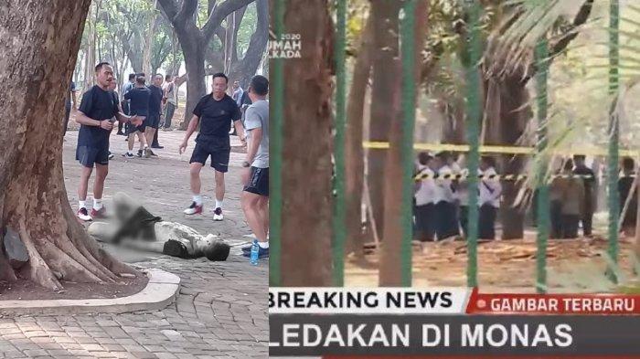 Kronologi Ledakan di Monas Lukai 2 Personel TNI, Satu Korban Terkapar Alami Luka Berat