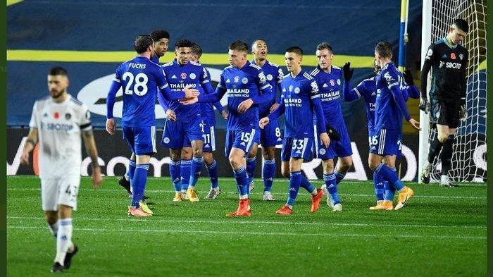 Berita Liga Inggris: Leicester City Tempel Ketat Liverpool, Jamie Vardy Sumbang Satu Saat Pesta Gol