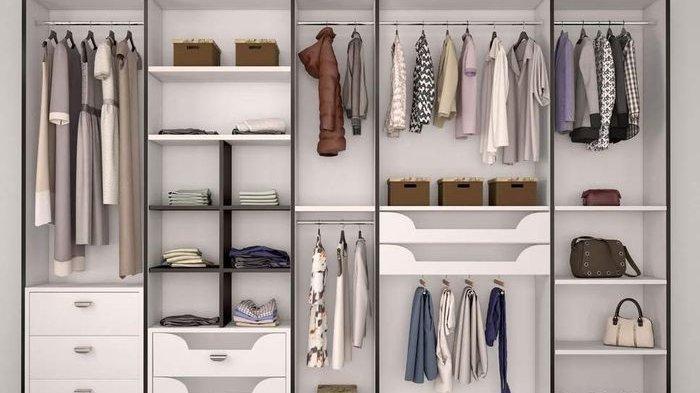 Ini 10 Langkah Mudah Cara Merapikan Lemari Pakaian