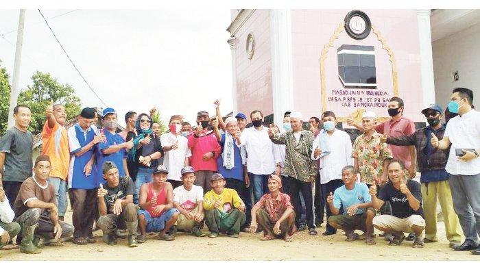 Lembaga Masyarakat Cinta Masjid Provinsi Babel Melakukan Kunjungan Ke Masjid Nurul Huda Desa Puding Besar Kec. Puding Besar (05/03/21)