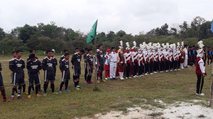 Liga Santri Nasional Digelar di Desa Namang, 16 Tim Beradu Kekuatan