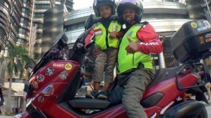 Viral Anggota DPRD Lilik Gunawan dan Putranya Pergi Haji Naik Motor Demi 1000 Pesan Cinta Buat Ibu