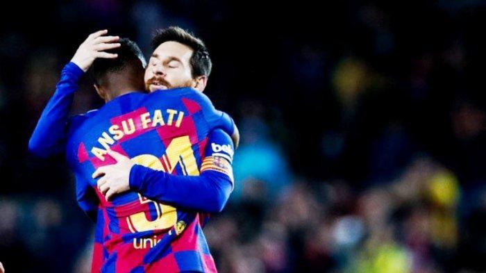 Usia Menginjak Angka 17 Tahun, Ansu Fati Miliki Segalanya untuk Gantikan Lionel Messi di Barcelona