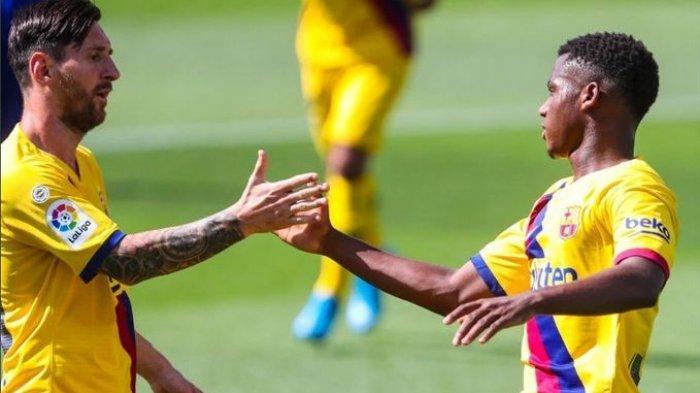 Barcelona Tolak Rp 2,8 Trilliun untuk Ansu Fati, Yang Berani Harganya Harus Lebih Mahal dari Neymar